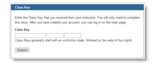 Web assign log in